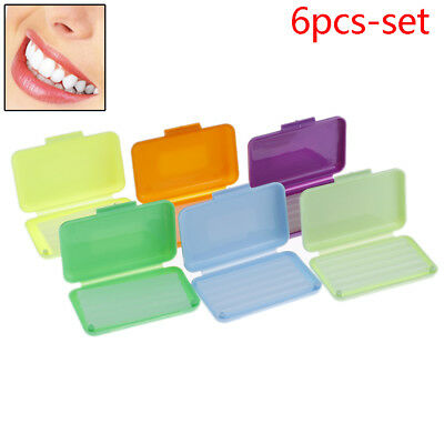 Dental Orthodontics Wax 10 Scents Fit Bracket Braces Gum Irritation  Dental Care