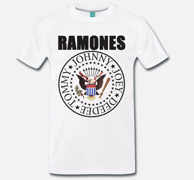 T-Shirt Maglia Ramones Rock Punk Band - 1 -  S-M-L-Xl