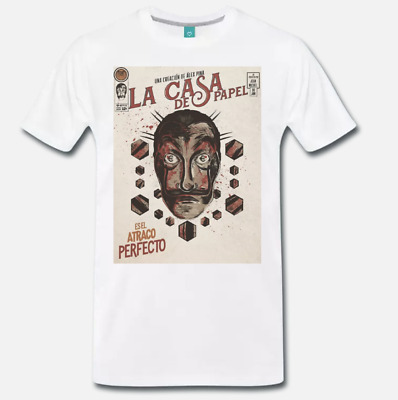 Maglietta T-shirt Serie Tv La Casa Berlin De Papel Di Carta Cult Movie Scritta