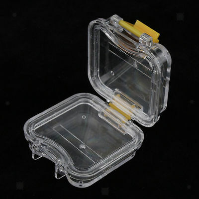 Dental Denture Storage Membrane Tooth Box Case with Film Mouthguard Container
