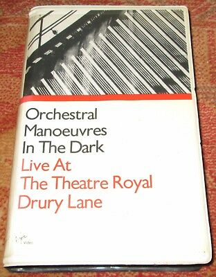 Orchestral Manoeuvers In The Dark Live At The Theatre Royal  - RARE VHS
