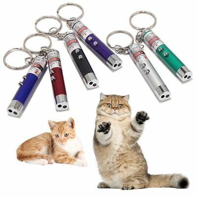 2-in-1 Lazer Pen Pointer Keychain Keyring With torch Cat Best Toy Available