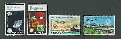 1983 World Communications Year set 4 Complete MUH/MNH as Issued