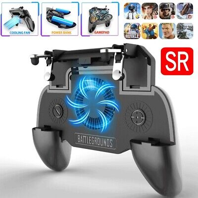 PUBG Mobile Phone Game Controller Joystick Fan Cooling Gamepad for Android IOS