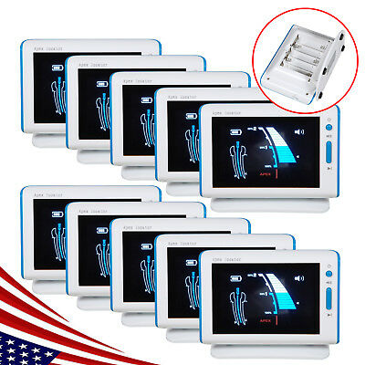 10 Dental Endo Apex Locator for Root Canal Space Measurement Finder Fit DTE