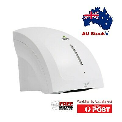 Dolphy ABS Two Waves Automatic Hand Dryer 1800W - White