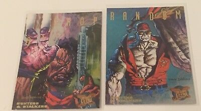 1995 Ultra X-Men - Hunters & Stalkers  - 4 & 5 - Limited Edition
