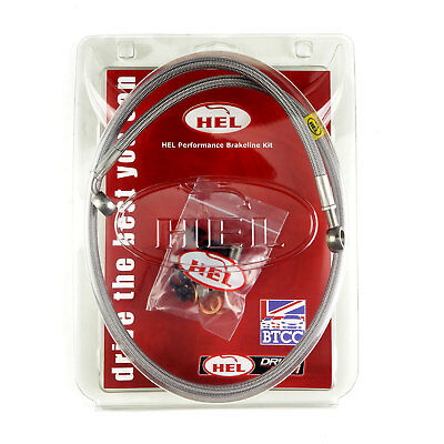 HEL Performance Braided FLEXI REPLACEMENT Clutch Line Nissan Pulsar 2.0 GTi-R