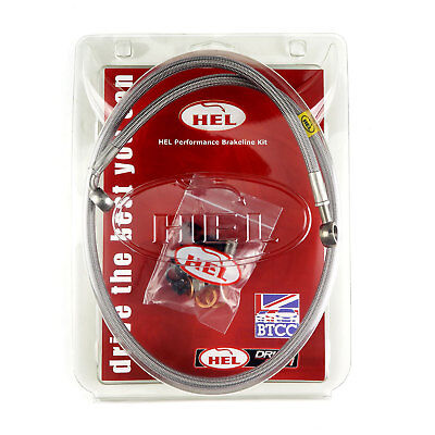 HEL Performance Braided FULL LENGTH Clutch Line Nissan 200SX S14 1JZ / R154 Box
