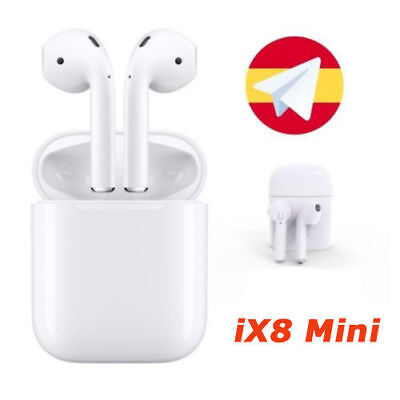 iX8 i7S Mini Airpods Auriculares Bluetooth inalámbricos Auriculares Apple iPhone