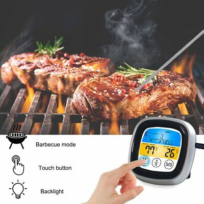New Food Cooking Bluetooth Wireless BBQ Thermometer Six Probes and Timer SG