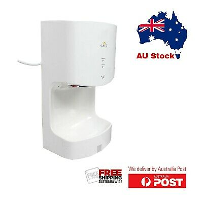 Dolphy ABS Plastic Automatic Jet Hand Dryer 1000W - White