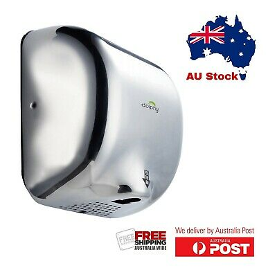 Dolphy 304 Stainless Steel Automatic High Speed Hand Dryer 1800W -  Chrome