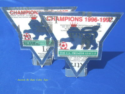 Lextra EPL Manchester United 96-97 Champion Arm Patches