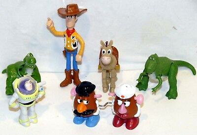 McDonalds Toy Story 1 & 2 Selection issued in 1996 & 2000