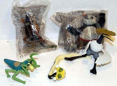 McDonalds Kung Fu Panda Selection issued in 2008