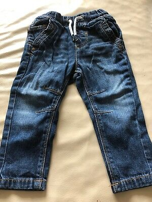 Baby Boys Next Jeans Size 9-12 Months - EXCELLENT CONDITION