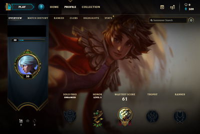 League of Legends EUNE account | 21 Champs | 1 Skin | Unranked (0-5 provisional)