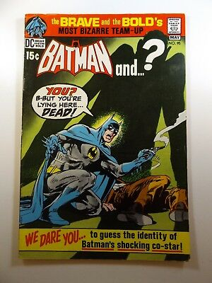 Brave and The Bold #95 Batman and Surprise Guest! Sharp Fine- Condition!!
