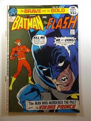 Brave and The Bold #99 Batman and The Flash! Beautiful Fine Condition!!