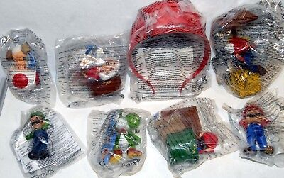McDonalds Super Mario MIPs Selection from various years