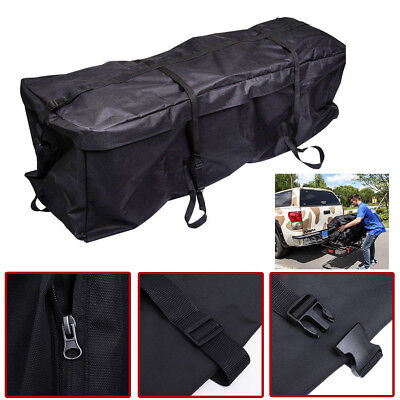 Huge Waterproof Cargo Luggage Bag Basket Car Roof Top Rack Carrier Travel Bag