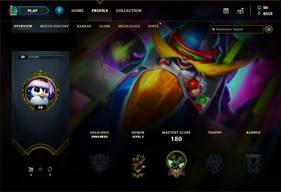 League of Legends EUNE account | 43 Champs | 6 Skins | 8352 BE | S7 Bronze