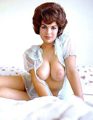 1963 VINTAGE PINUP color glamour portrait photo (Celebrities)