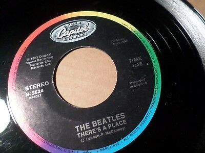 the beatles theres a place