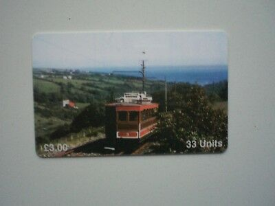Telecarte Isle of Man Car No 3 trams