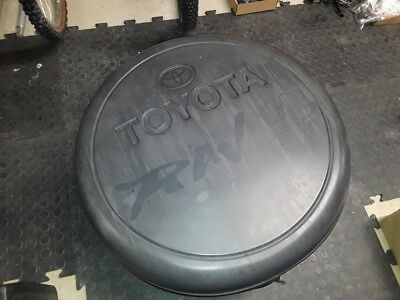Toyota RAV4 spare wheel cover genuine black 4x4  OEM