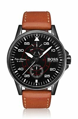 4a00a1a18f3d Men s Hugo Boss Horizon Steel Mesh Strap 40mm Watch 1513541.