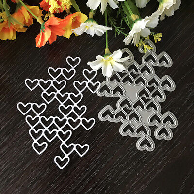 Love string Design Metal Cutting Die For DIY Scrapbooking Album Paper Card TK