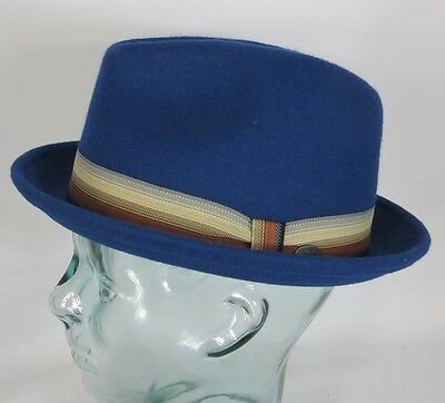 6d510e1f6ca Bailey of Hollywood Kluge Trilby Hat Wool Felt Pork Pie Wool Hat Player Hat  New