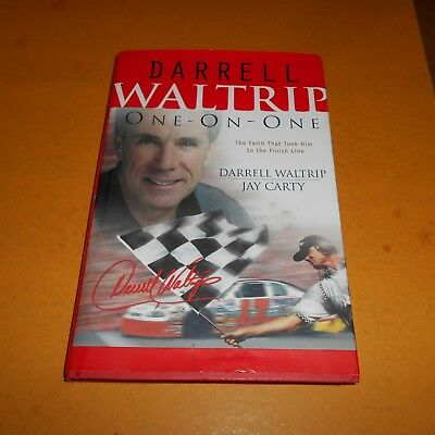 Darrell Waltrip is an American motorsports analyst Hand Signed H/C D/J Book