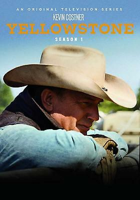 Yellowstone Season 1 One (DVD , 2018,4-Disc Set) Kevin Costner - Free Shipping
