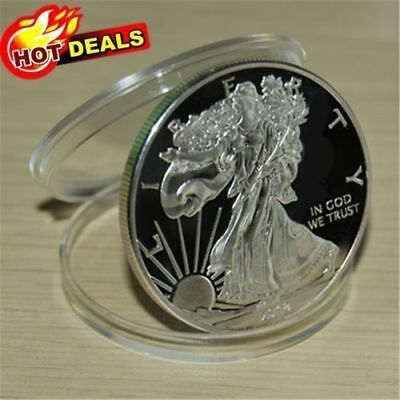 NEW2018 1 Oz American Eagle silver coin One Ounce Silver Coin 999 SILVER BULLION