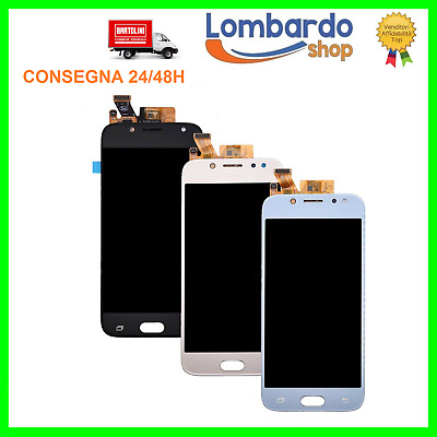 Display Lcd Touch Screen Per Samsung Galaxy J5 2017 J530F J530 Nero Bianco Blu