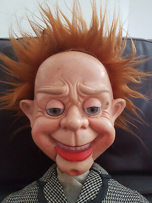 Very Rare Vintage Retro Mr Parlanchin Ventriloquist Dummy / Doll Fully Working