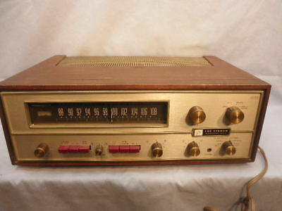 Vintage 1965 FISHER 600T Professional Series FM Receiver for Parts or Repair NR