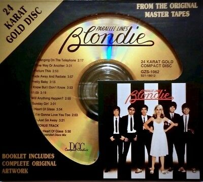 DCC GOLD CD GZS-1062: Blondie - Parallel Lines - 1994 JAPAN / USA OOP Near Mint