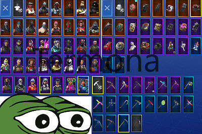 Fortnite Account with OG Skins! Email Access + changeable Name + Save The World!