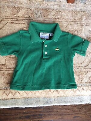 Toddler 12 Month Masters Polo - Green