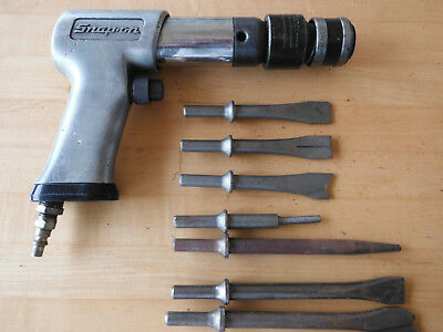 Snap On Tools PH-50D Air Hammer Chisel with bits Works great!