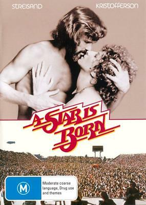 A Star Is Born - Streisand/Kristofferson - DVD - UK Compatible New & Sealed
