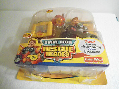 Fisher-Price Voice Tech Mission Com. Rescue Heroes BILLY BLAZES  FIREFIGHTER