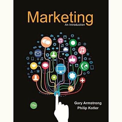 Marketing: An Introduction 13th Edition 978-0-13-414953-0 (Read Description)
