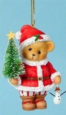 Cherished Teddies - All For The Little Ones - 2nd Santa Ornament #4040473