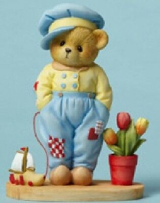 Cherished Teddies - Van - Tulips Are A Pleasure, Good Friends Are A  #4049736