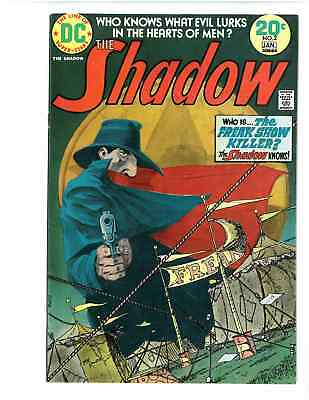 The Shadow # 2 - January 1974 - Bronze Box - Free Shipping